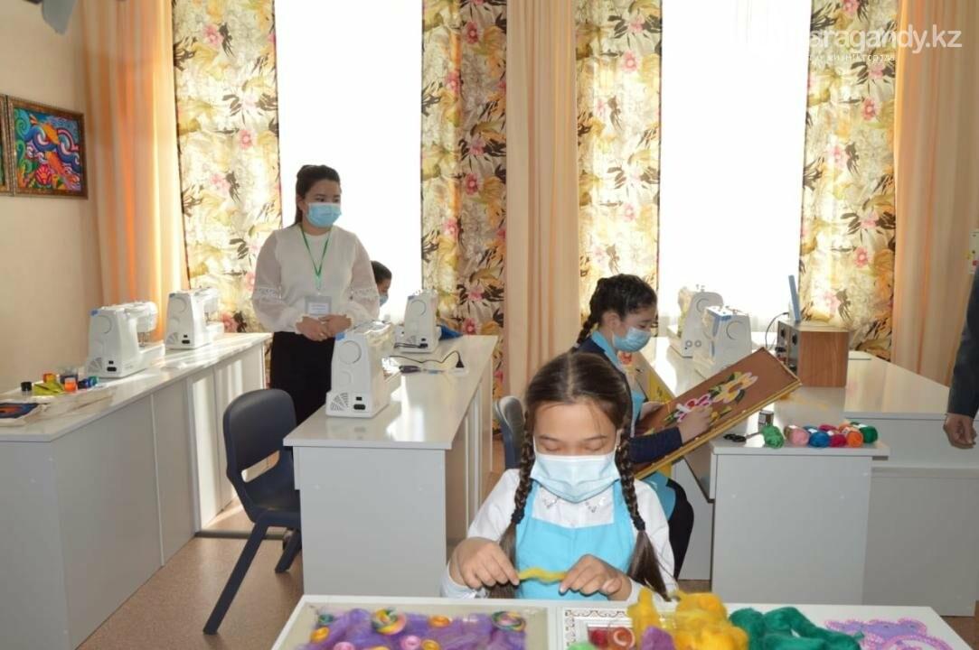 в технопарке дети занимаются бесплатно, фото пресс-службы акимата Карагандинской области