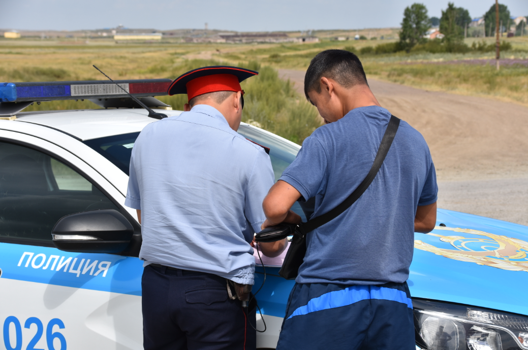 В Карагандинской области за полгода сотрудниками полиции выявлено 92 тысячи нарушений ПДД , фото-4