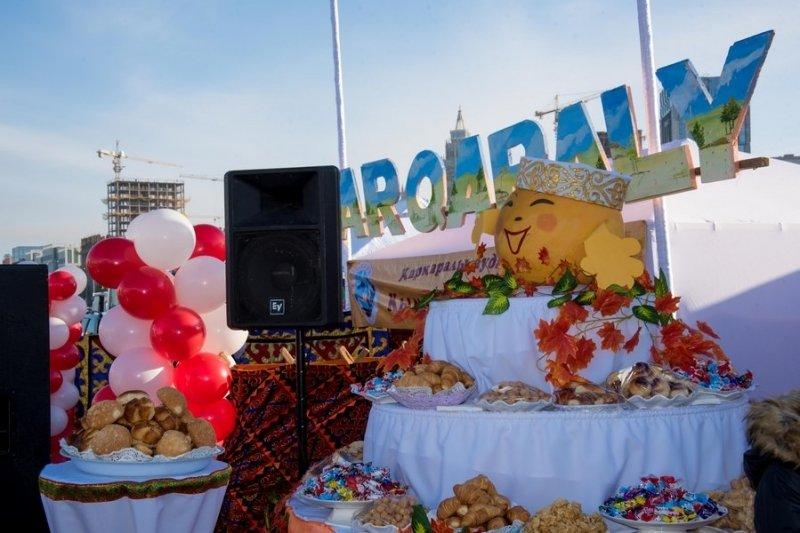 Сельхозпроизводители Карагандинской области представили свою продукцию жителям столицы Казахстана, фото-3
