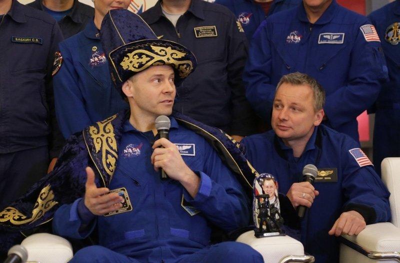 В Караганде встретили экипаж «Союза МС-12» , фото-6