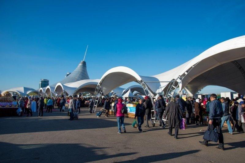Сельхозпроизводители Карагандинской области представили свою продукцию жителям столицы Казахстана, фото-5