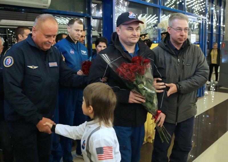 В Караганде встретили экипаж «Союза МС-12» , фото-5