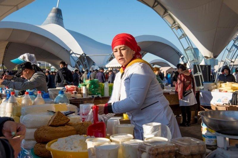Сельхозпроизводители Карагандинской области представили свою продукцию жителям столицы Казахстана, фото-7