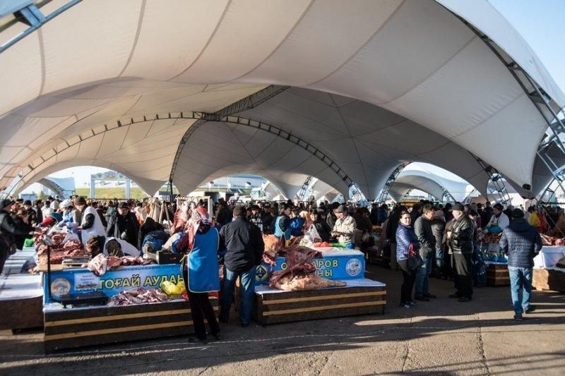 Сельхозпроизводители Карагандинской области представили свою продукцию жителям столицы Казахстана, фото-9