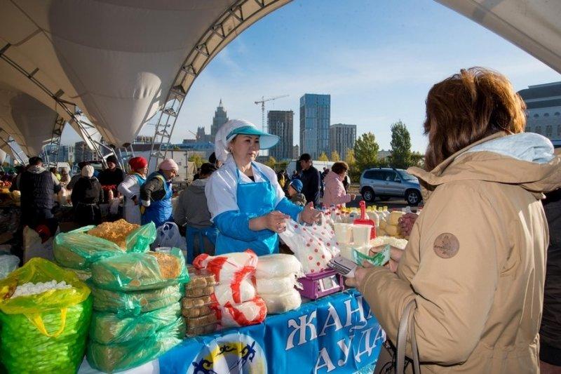Сельхозпроизводители Карагандинской области представили свою продукцию жителям столицы Казахстана, фото-10