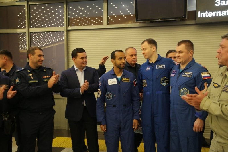 В Караганде встретили экипаж «Союза МС-12» , фото-4