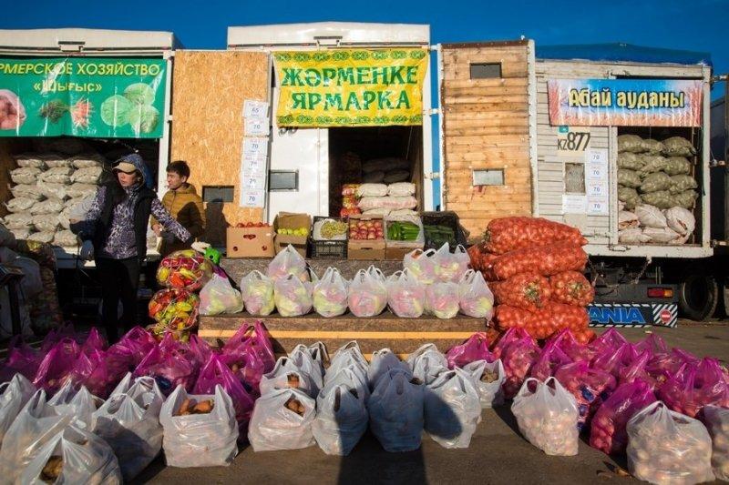 Сельхозпроизводители Карагандинской области представили свою продукцию жителям столицы Казахстана, фото-11