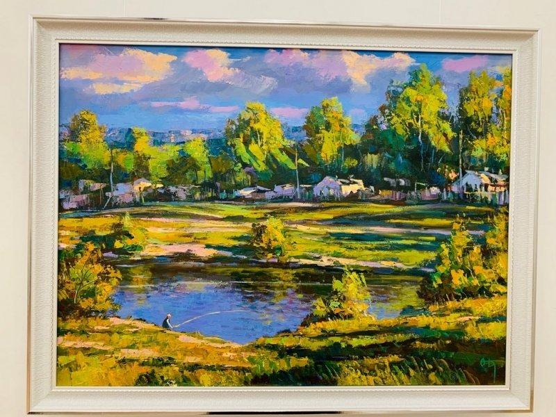 В Караганде открыта персональная выставка Олега Дроздова, фото-4