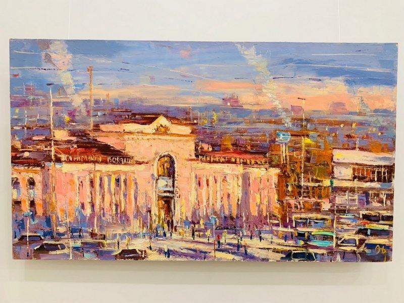 В Караганде открыта персональная выставка Олега Дроздова, фото-5