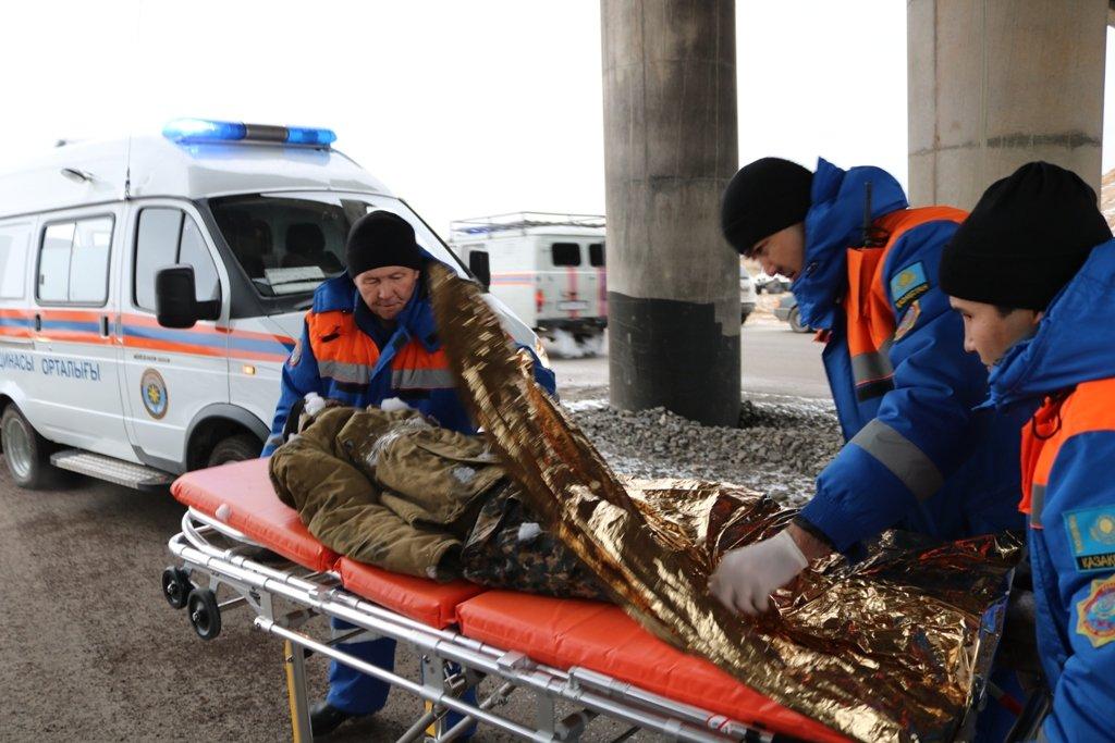 В Карагандинской области для ликвидации ЧС зимнего периода были приведены в готовность свыше 3000 человек и 1200 техники, фото-9