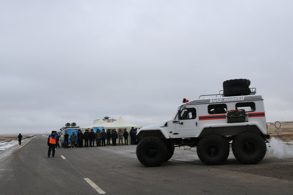 В Карагандинской области для ликвидации ЧС зимнего периода были приведены в готовность свыше 3000 человек и 1200 техники, фото-12