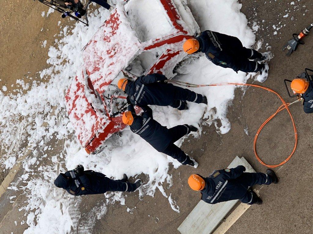 В Карагандинской области для ликвидации ЧС зимнего периода были приведены в готовность свыше 3000 человек и 1200 техники, фото-29