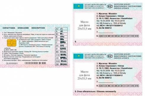 В Казахстане водительские удостоверения нового образца начнут выдавать с 2020 года, фото-1