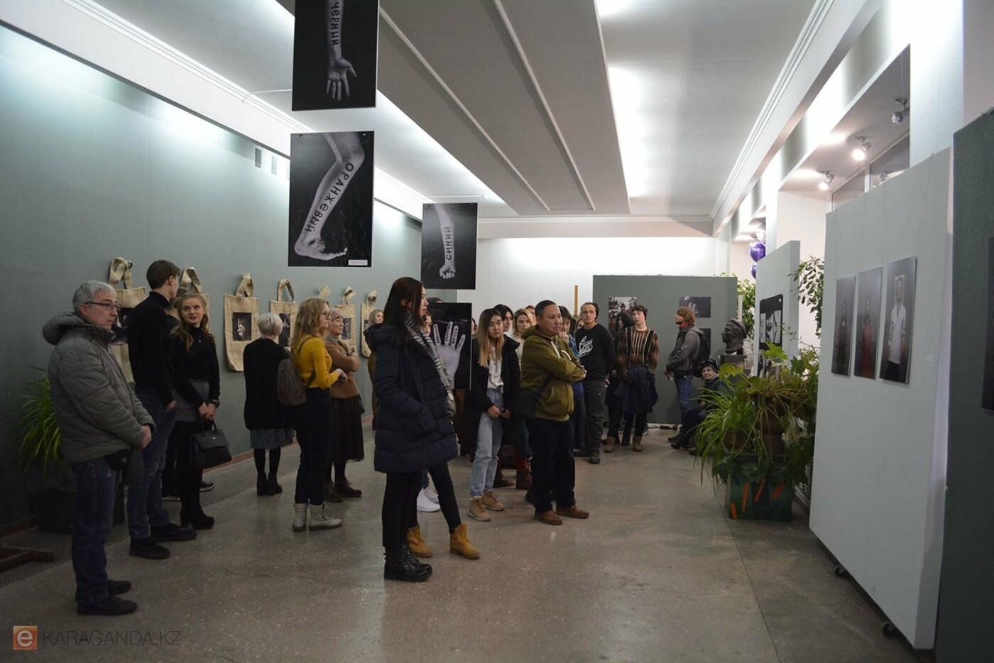В Караганде проведена выставка «Монолог 33», фото-1
