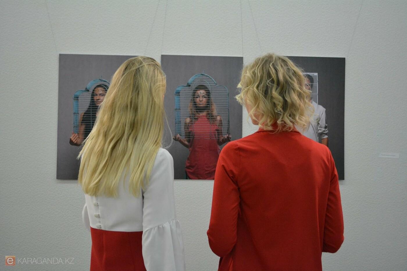 В Караганде проведена выставка «Монолог 33», фото-2