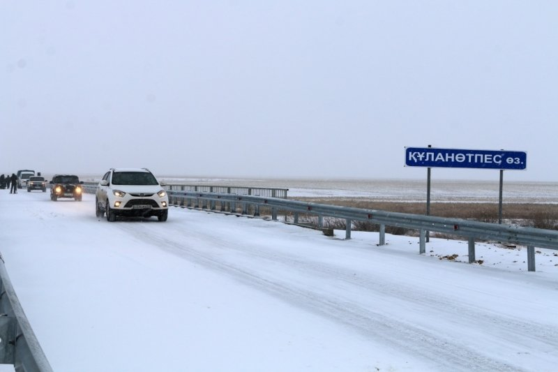 Паводки разрушили мост в Карагандинской области, на его месте построили новый (фото), фото-3