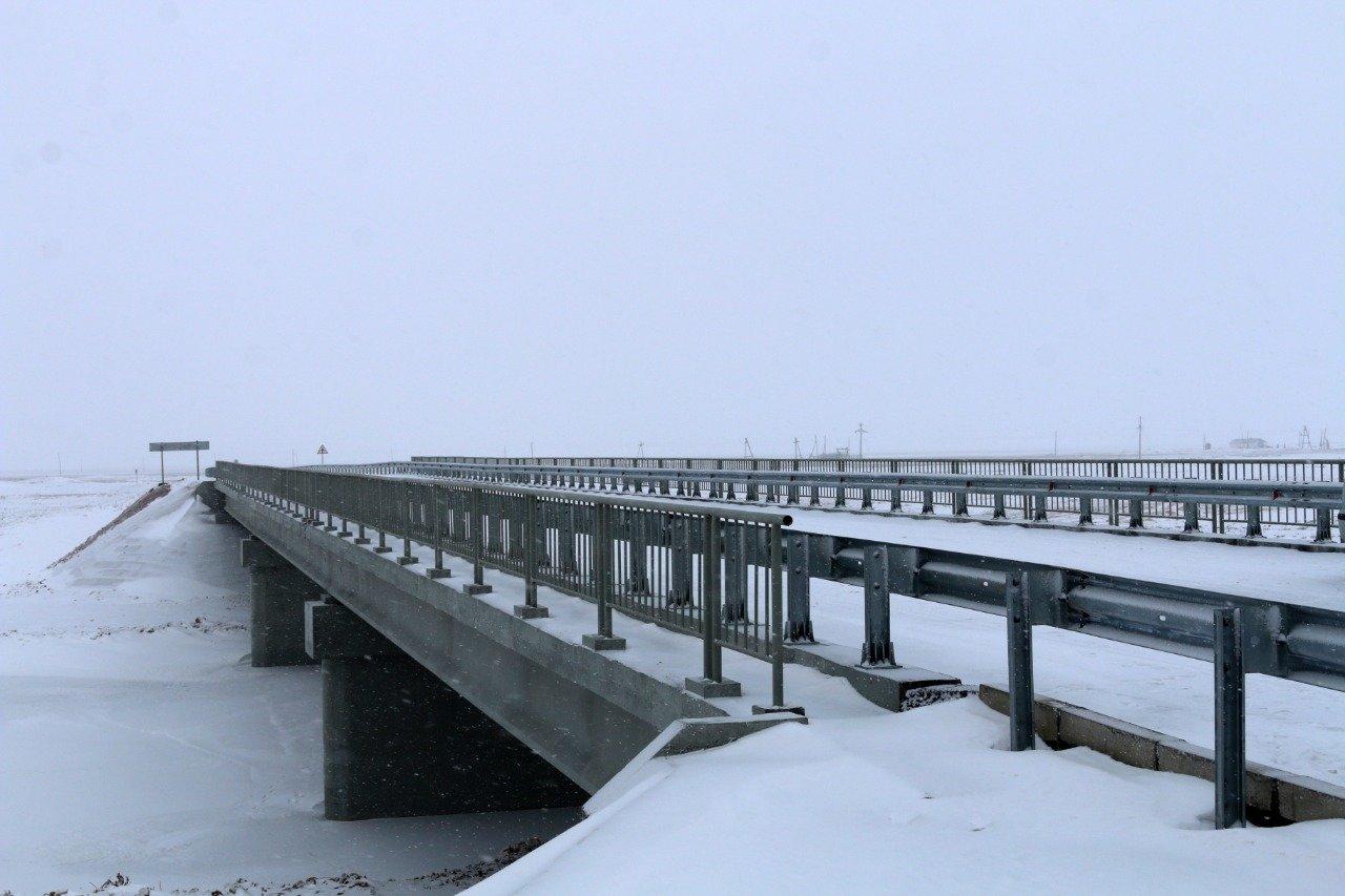 Паводки разрушили мост в Карагандинской области, на его месте построили новый (фото), фото-1