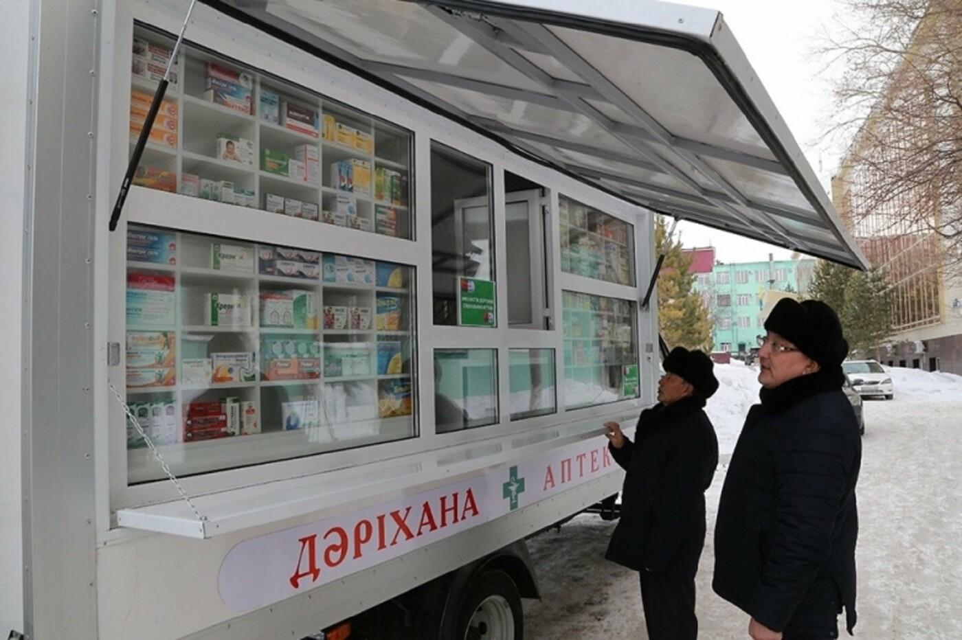 Передвижная аптека колесит по сёлам Актогайского района, фото-2, @karaganda-region.gov.kz