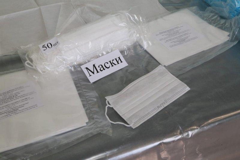 Трёхслойные медицинские маски начали выпускать в Караганде, фото-1