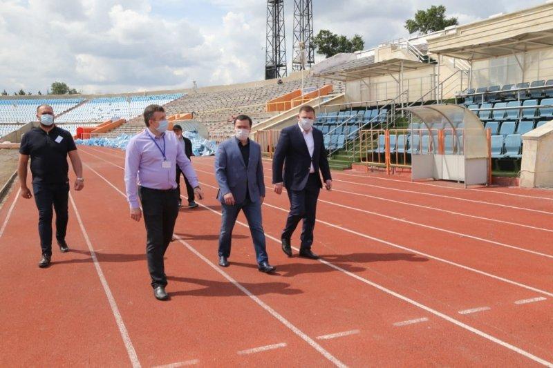 """Стадион """"Шахтер"""" в Караганде отремонтируют до 1 августа, фото-1"""