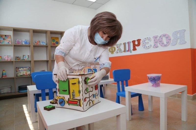 Для детей с ДЦП открыли бесплатный ребилитационный центр в Караганде, фото-3