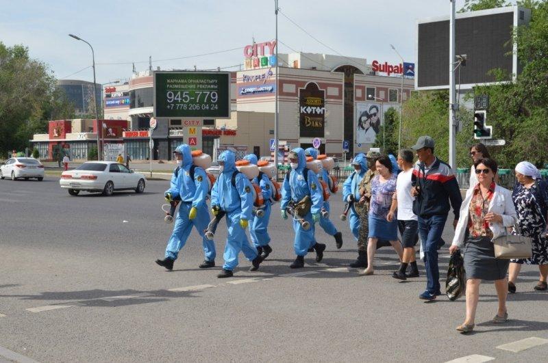 В Караганде возобновили дезинфекцию общественных мест от COVID-19, фото-2