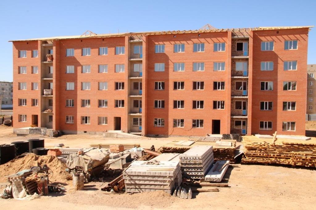 Новые дома, детские сады, школы, объекты культуры и спорта строят в Карагандинской области, фото-1