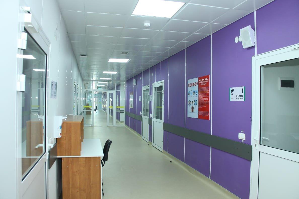Модульный инфекционный госпиталь на 200 коек сдали в Жезказгане