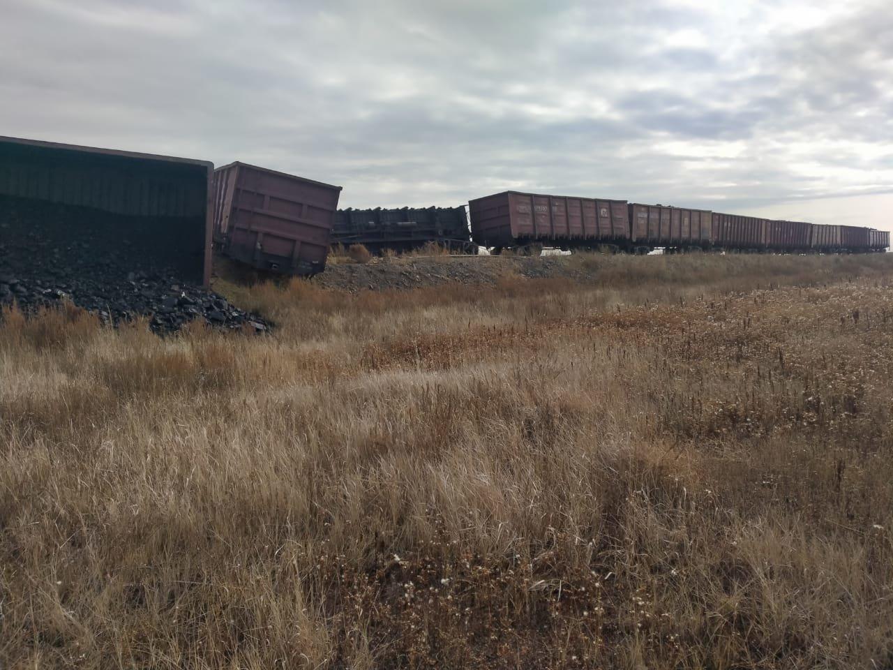 Восемь вагонов сошли с путей в Карагандинской области, фото-1