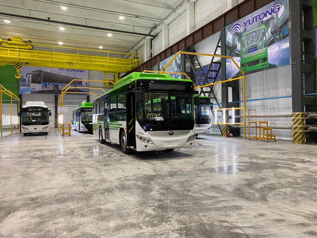 Автобусы соответствуют мировым стандартам и подходят для экспорта, фото пресс-службы акимата Карагандинской области