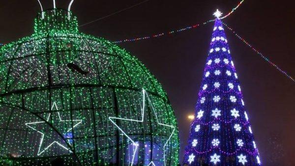 Зажжение елки пройдет в режиме онлайн, фото пресс-службы акимата Карагандинской области