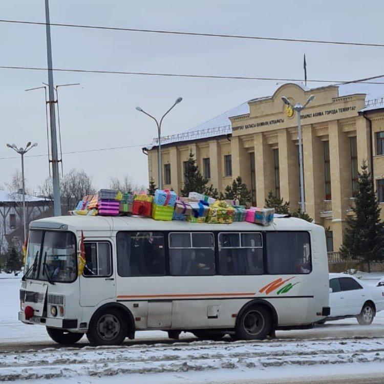 Победитель в номинации Лучшее оформление транспорта, фото пресс-службы акимата Карагандинской области