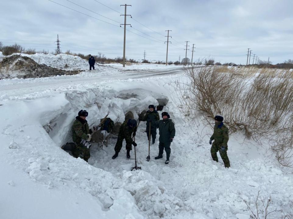 основная задача учений - профилактика паводков, фото пресс-службы ДЧС Карагандинской области
