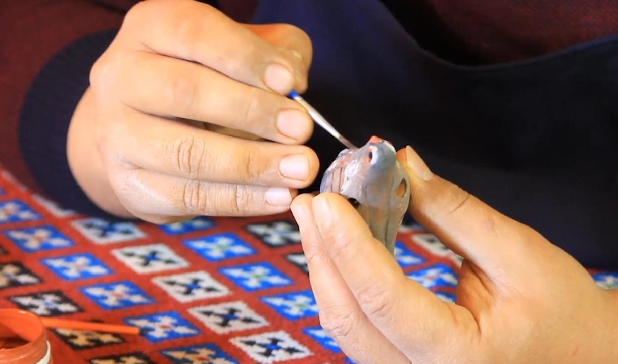 удивительный музыкальный инструмент придумал житель Улытау, фото пресс-службы акимата Карагандинской области