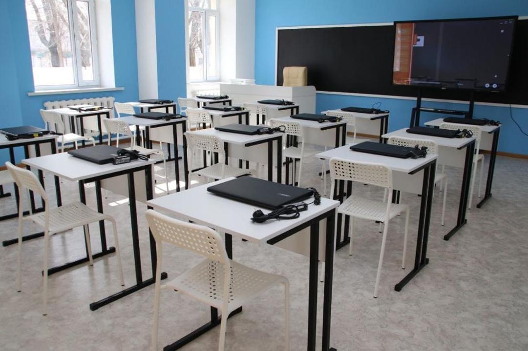 школа будет достроена к концу текущего года, фото пресс-службы акимата Карагандинской области
