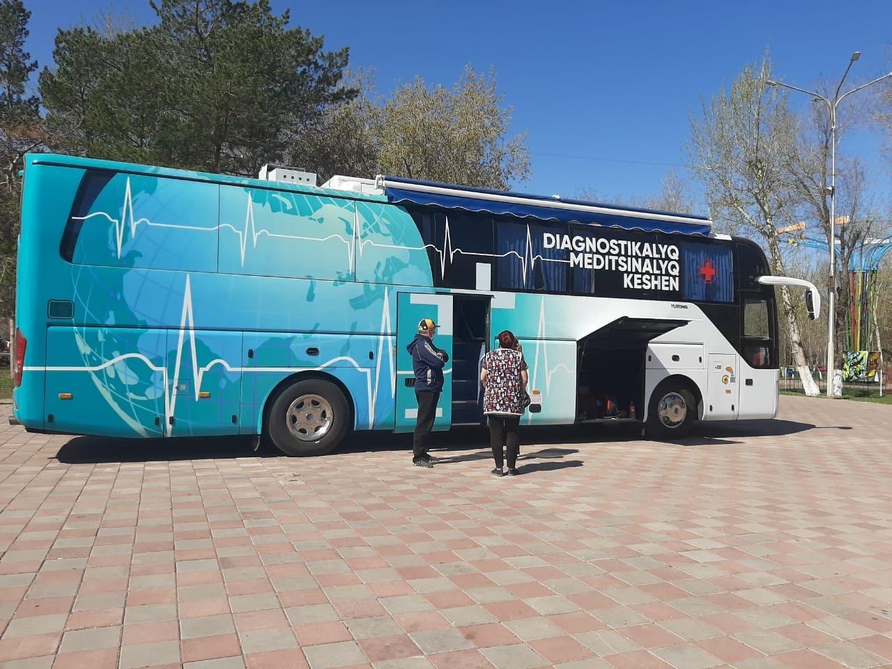 Передвижные пункты вакцинации работают в Карагандинской области, Женис Касымбек/facebook