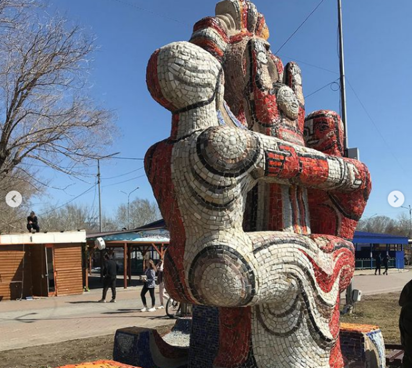 В Караганде в центральном парке отреставрируют мозаичные скульптуры, фото-2, фото пресс-службы акимата Карагандинской области
